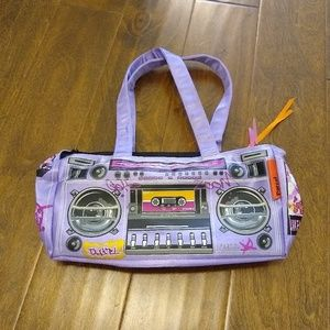 Parcel by Steve Madden boom box purse stereo bag